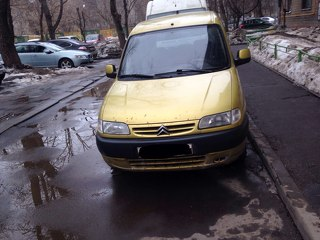 Citroen Berlingo, Минивэн 2002
